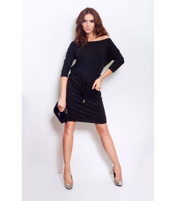 13-1A Sukienka sportowa - czarna