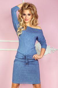 13-20 Sukienka sportowa - Wiskoza - jeans jasny niebieski