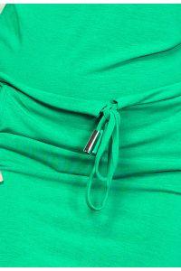 56-2 Sukienka sportowa - NEON Zielony