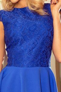 157-5 Sukienka MARTA z koronką - CHABROWA