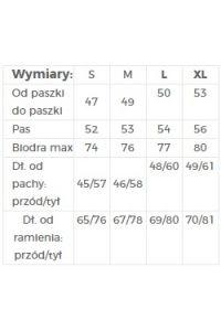 201-1 Luźna bluzka z dwoma kieszonkami - Lekkie PIÓRKA