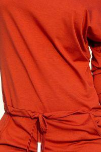 13-84 Sukienka sportowa - MIEDZIANA