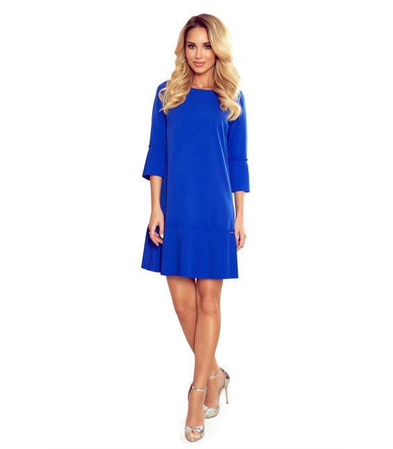 228-8 LUCY - plisowana wygodna sukienka - CHABROWA