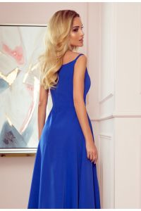299-3 CHIARA elegancka maxi suknia na ramiączkach - CHABROWA