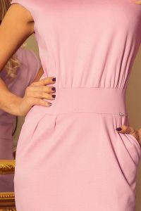 144-9 Sukienka midi SARA z podwyższonym stanem - LILA