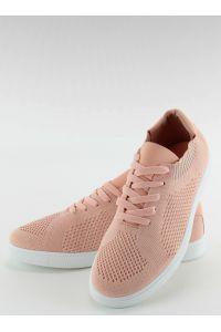 Trampki skarpetkowe new style lz-9826 Pink