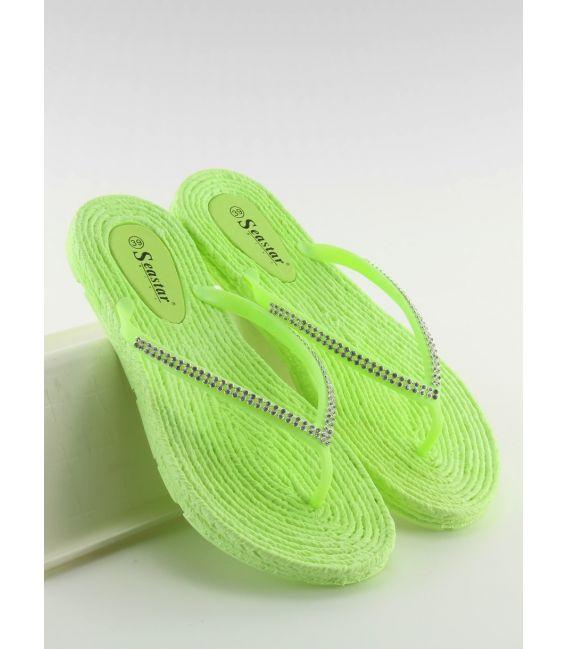 Japonki gumowe zielone CK40P LT.GREEN