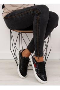 Trampki damskie czarne M897 BLACK
