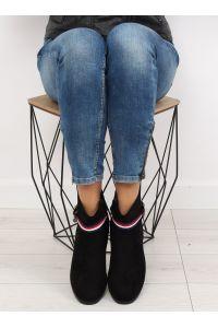 Sztyblety damskie czarne 99-150 BLACK