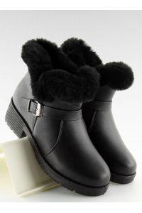 Botki damskie czarne SJ1820-1 BLACK