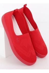 Trampki ażurowe czerwone JX63P RED