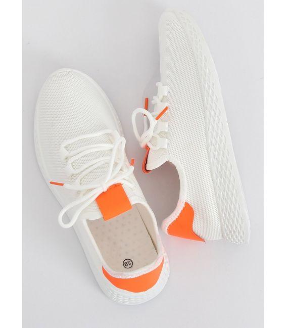 Buty sportowe biało-pomarańczowe NB281 ORANGE