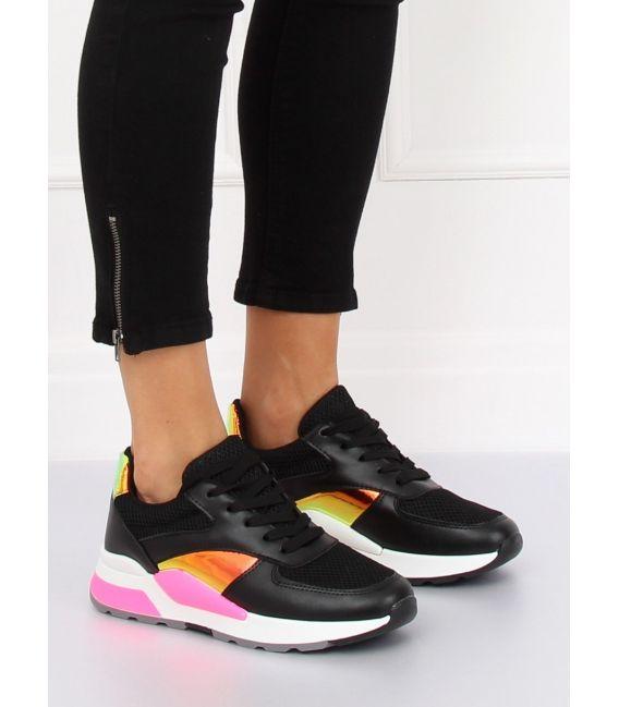 Buty sportowe czarne LV73P BLACK