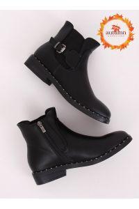 Sztyblety damskie czarne HFN-2279 BLACK