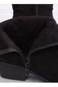 Kowbojki damskie czarne NC970P BLACK