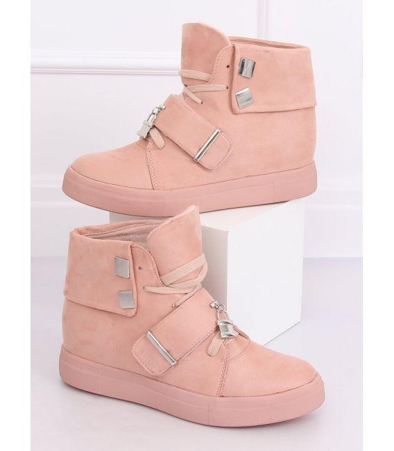 Sneakersy damskie różowe NC158 PINK
