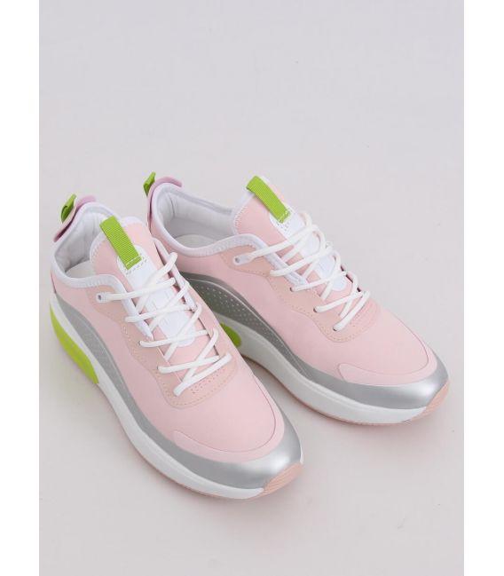 Buty sportowe damskie różowe YK106 GREY/PINK