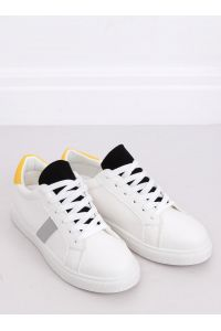 Trampki damskie białe WB811 WHITE/BLACK