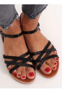 Sandałki damskie czarne 99-62 BLACK