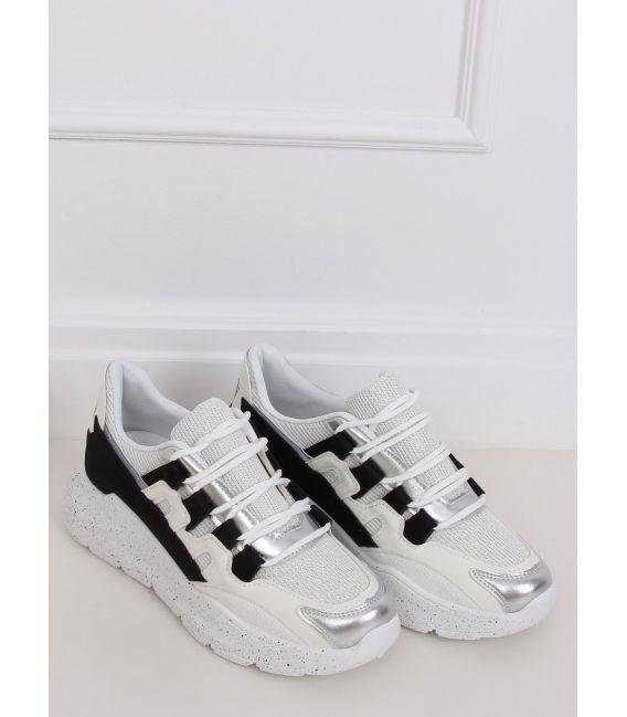 Buty sportowe damskie biało-czarne 2009 BLACK