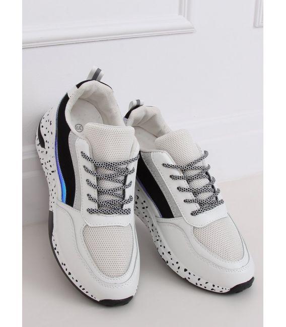 Buty sportowe damskie białe C-3151 BLACK