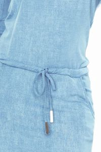 13-80 Sukienka sportowa - Wiskoza - BARDZO JASNY jeans