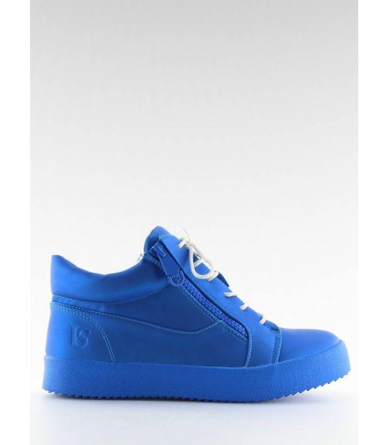 Buty sportowe damskie niebieskie 1413 BLUE