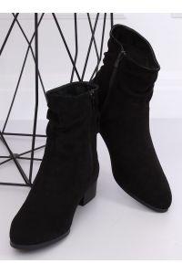Botki damskie klasyczne czarne YK-101 BLACK