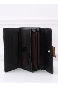 Elegancki portfel damski czarny PF-7103 CZARNY