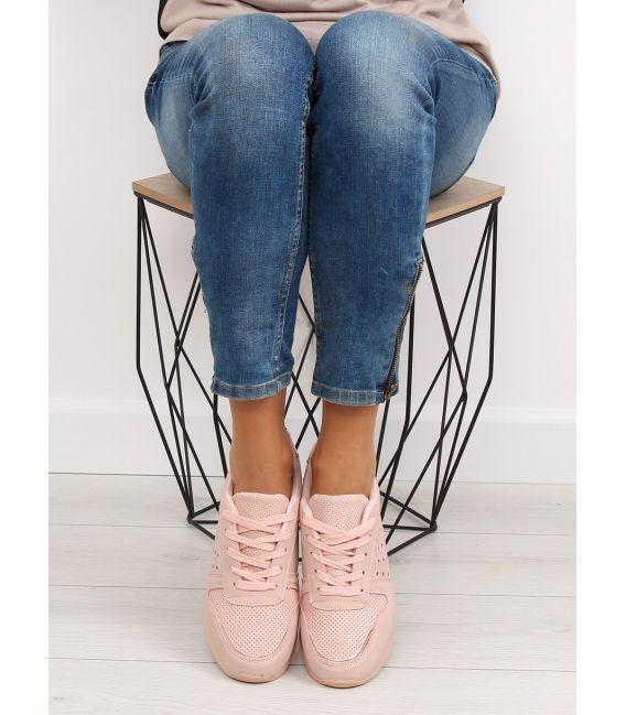 Buty sportowe damskie różowe SU12P PINK