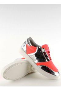 Buty sportowe neonowo lustrzane GQ2336 Orange