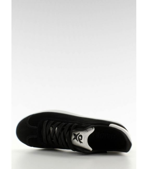 Zamszowe trampki Juniorki BK6180-1 Black