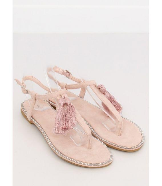 Sandałki japonki różowe 7263 PINK