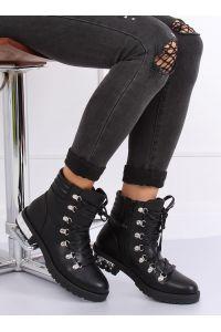 Botki damskie czarne Y8182 BLACK