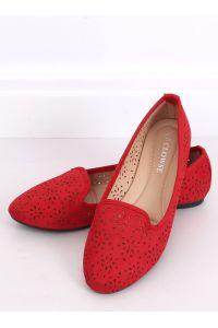 Lordsy ażurowe czerwone 9F126 RED