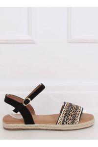 Sandałki damskie espadryle czarne WH933 BLACK