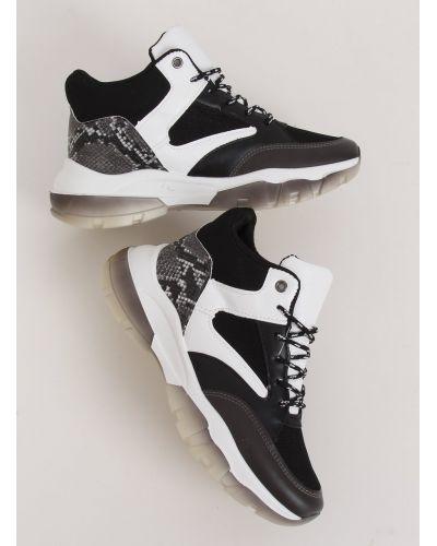 Buty sportowe za kostkę czarne 2000-C06 BLACK