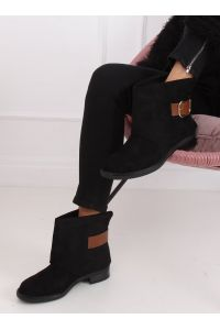 Botki damskie czarne UK19P BLACK