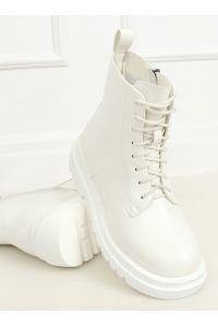 Buty na wysokiej podeszwie białe ID01 WHITE