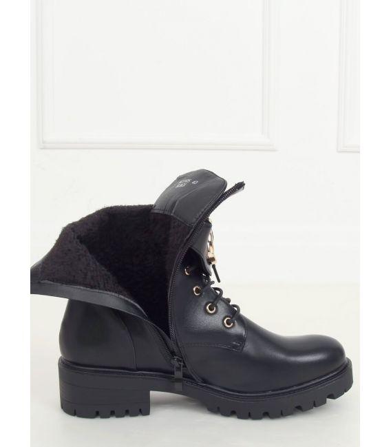 Botki militarne czarne NC1105 BLACK