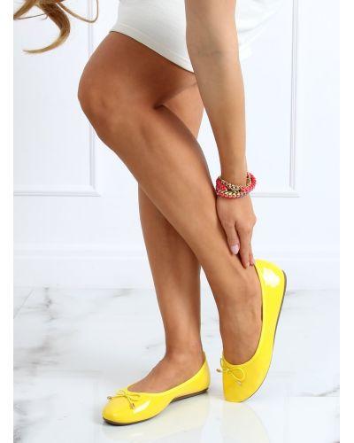Baleriny neonowe żółte DY-01 YELLOW